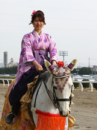 川崎競馬の誘導馬01月開催 和服1Ver-120101-26