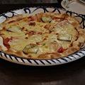 Photos: 茄子&トマトのピザ