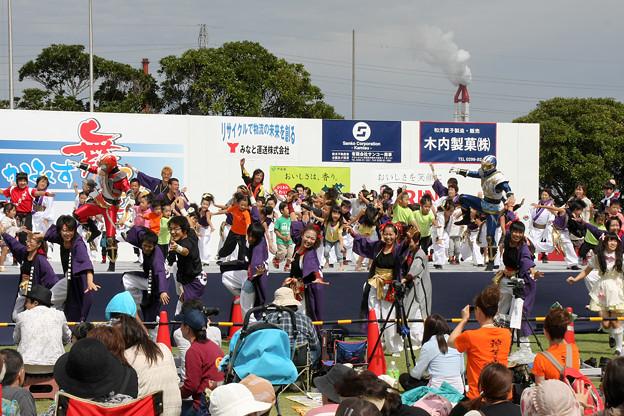写真: 舞神 双嵐龍(ソーランドラゴン)_03 - かみす舞っちゃげ祭り2011