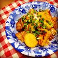 Photos: 鶏肉と自然薯の照り煮