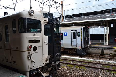 指宿のたまて箱×817系@鹿児島中央駅[8/14]
