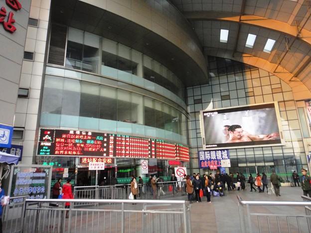 上海長途汽車站 入口