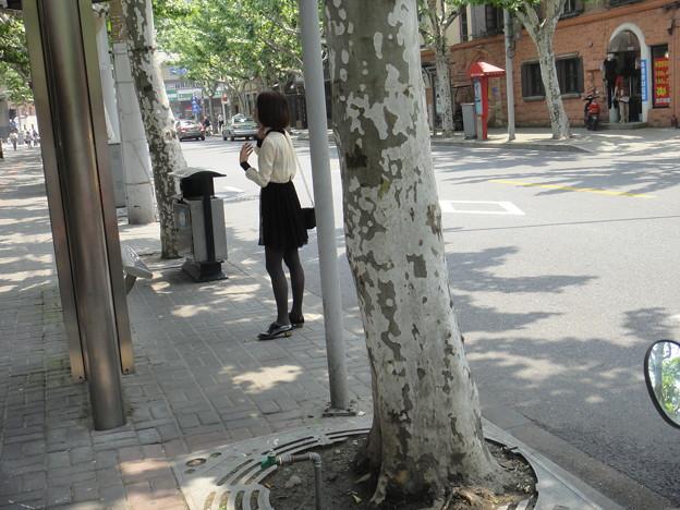 清楚な感じだけどブラ透け小姐 (15)