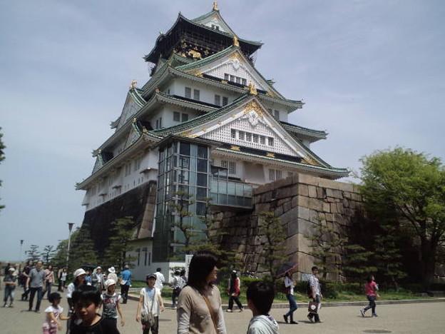 大阪 城 エレベーター