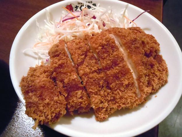 チキンカツ定食@さくら水産