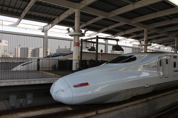 九州新幹線 N700系と800系