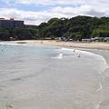 写真: 多々戸浜海水浴場(静岡県下田市)