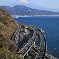 東海道本線 由比-興津