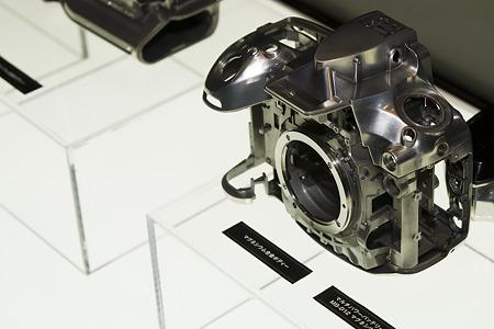 Nikon D800 マグネシウムフレーム