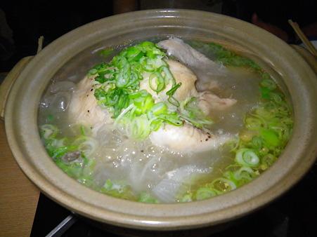 やきとり福ちゃん 参鶏湯(サムゲタン)