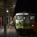 Photos: 新発田駅 夜の0番線