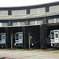 Photos: 天竜浜名湖鉄道TH2100型&扇形庫
