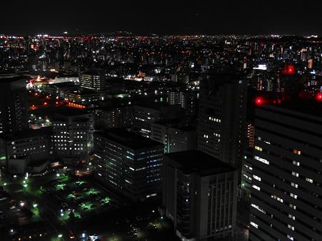 博多駅方面の夜景