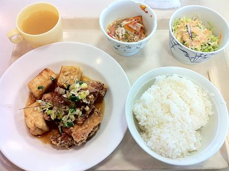 札幌市下水道庁舎食堂 日替わり