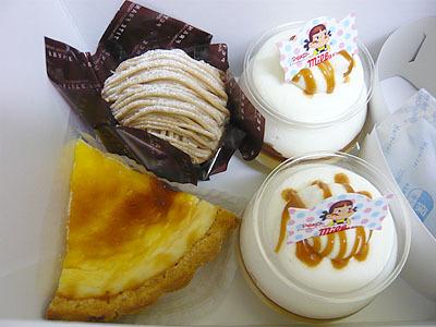 不二家のケーキ110724