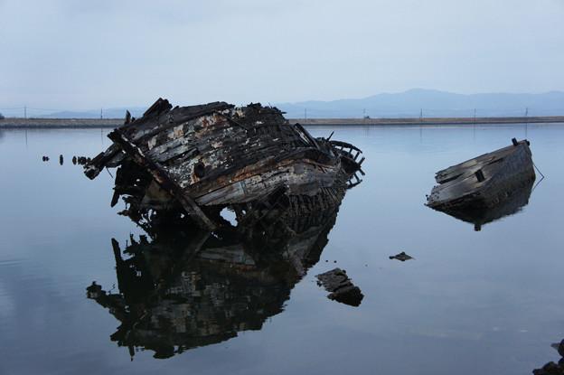 大根島 廃船(1)