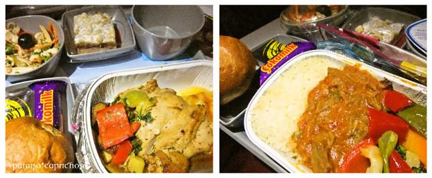 カタール航空・機内食