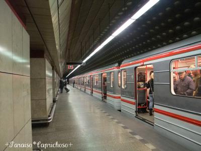 プラハの地下鉄2