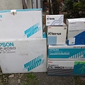 Photos: エプソンPC-286LE、VP-2050など