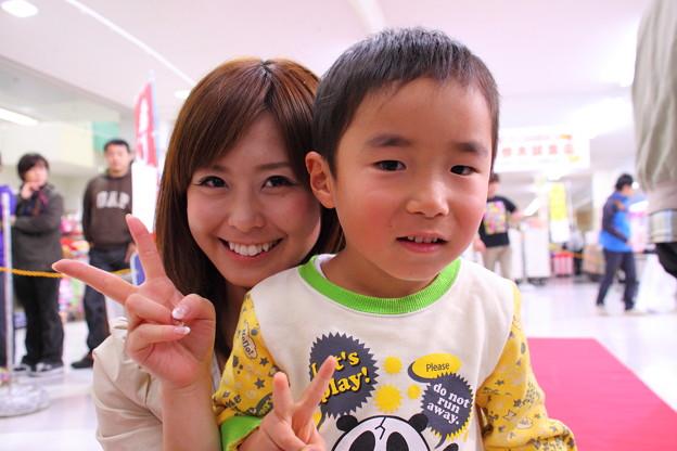 TUY渡部有(なお)アナと息子