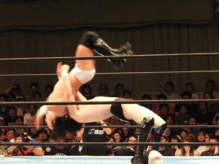 新日本プロレス BEST OF THE SUPER Jr.XIX 準決勝戦 Aブロック1位 PAC vs Bブロック2位 田口隆祐 (4)