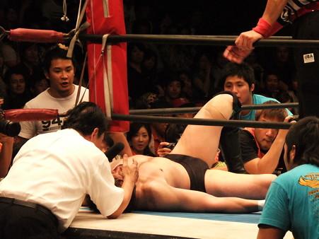 新日本プロレス BEST OF THE SUPER Jr.XIX 決勝戦 田口隆祐vsロウ・キー (3)