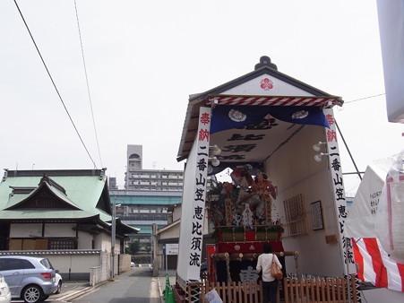 37 博多祇園山笠 恵比須流 舁き山 琴瑟相和調(きんしつあいわしてととのう)2012年 写真画像5