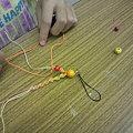 写真: ヘンプ編み体験教室@2011/9/113