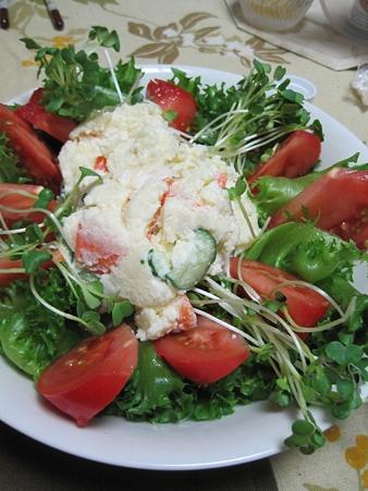 大盛りポテトサラダ