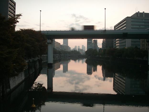肥後橋から見た淀屋橋1