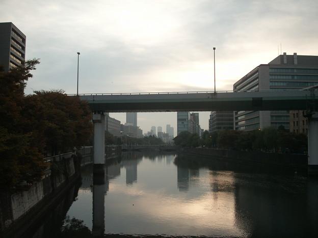 肥後橋から見た淀屋橋3