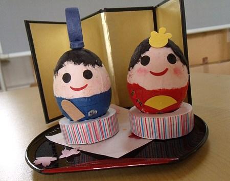 ひな人形つくり作品 (5)