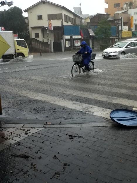 自転車の人