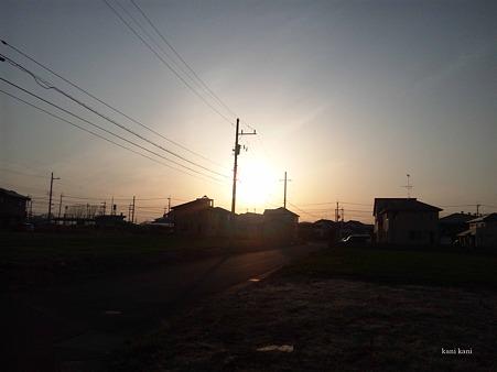 2012.03.20 夕陽