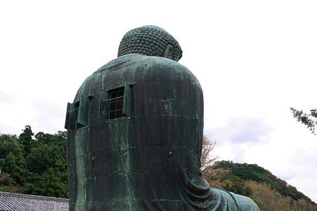2011.09.25 鎌倉 深沢の大仏 丸い背