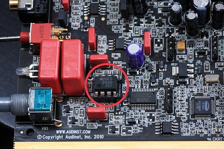 2012.03.04 机 HUD-mx1 OPAMP交換 MUSE8920D