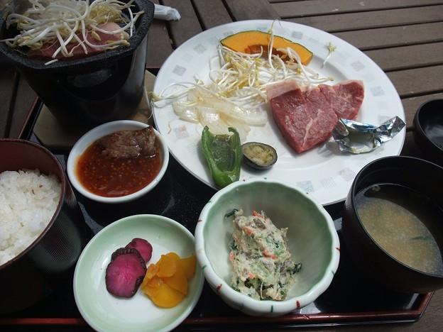Photos: サーロインステーキご膳♪