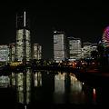 Photos: 全館ライトアップの映り込み2011