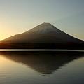 Photos: 精進湖の日の出