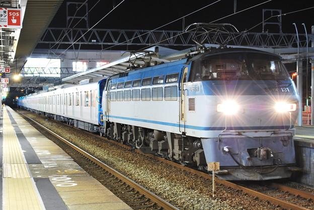 甲種輸送 東武50070系