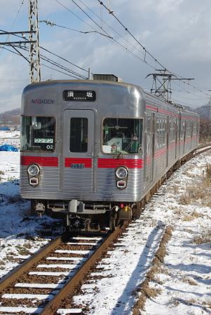 長野電鉄3000系02編成