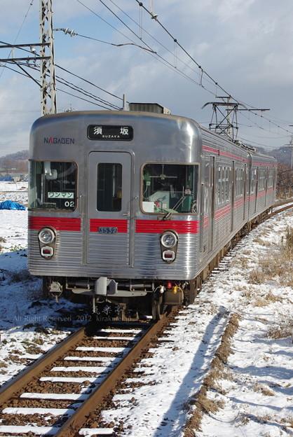 Photos: 長野電鉄3000系02編成