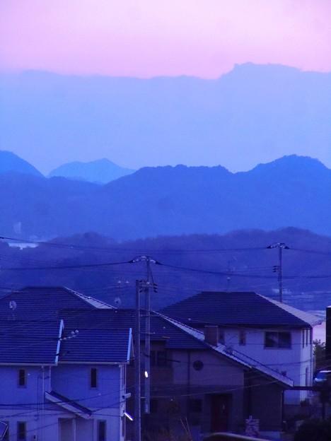 正月六日・瀬戸の夕景