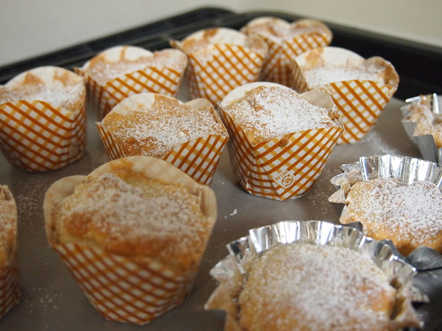 メレンゲカップケーキ