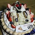 バースデーケーキ 7歳  仮面ライダー