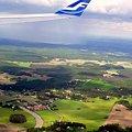 写真: ストックホルムの上空から~♪