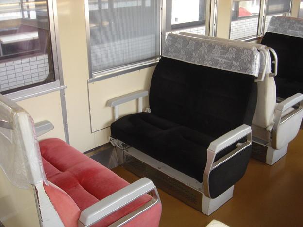 駿豆線7000系 座席