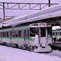 小樽駅にて普通からエアポートまで721系