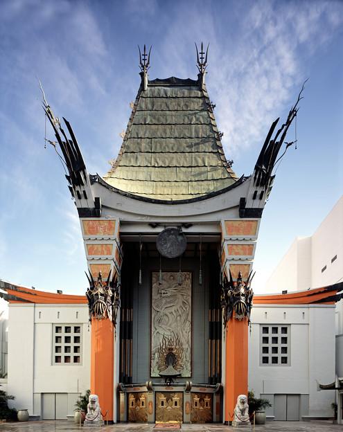 写真: 真鍋裕司 世界一有名な映画館 グローマンズ・チャイニーズ・シアター