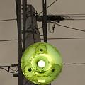 夕暮れの電柱街路灯 【パートカラー】
